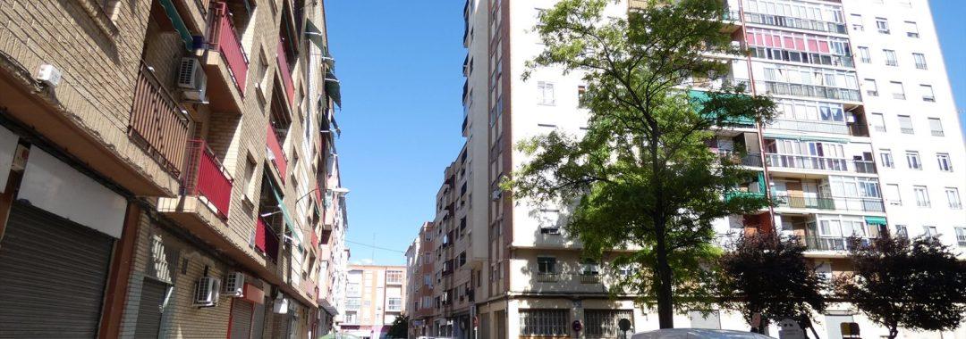 Calle Tiermas Zaragoza